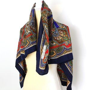 YSL Vintage Paisly Scarf